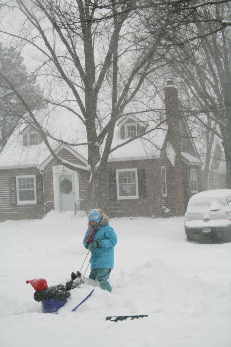 Linnea-Snow Storm 2010 062